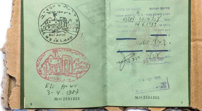 Visum für Achzivland und Israel