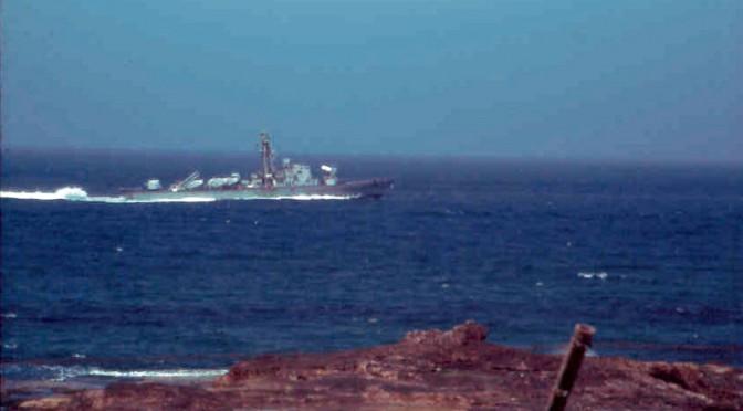 Patrouillienboot Richtung Libanon