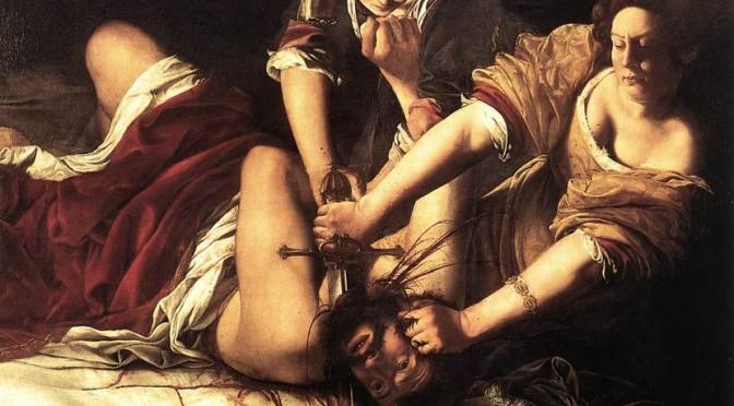 Artemisia Gentileschi, Judith und Holofernes, 1614-1620