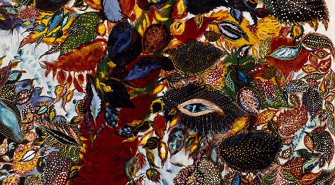 Séraphine Louis L'arbre du paradis (Der Paradiesbaum), um 1929 Öl auf Leinwand, 195 x 130 cm